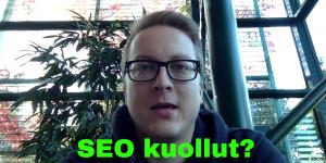 Jarno Tuovinen kertoo hakukoneoptimointivinkkejä YouTubessa