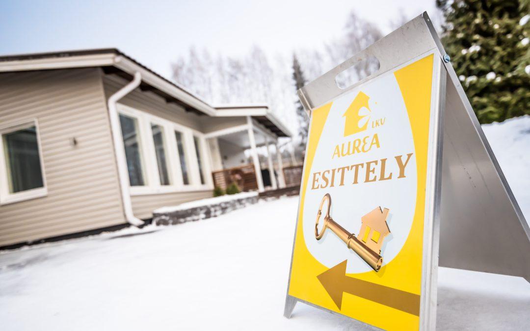 Oululaisen kiinteistönvälityksen markkinaykkönen Aurea: Tavoitteena tyytyväinen asiakas